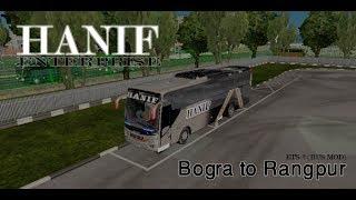 ETS 2 : Bogura to Rangpur Night Journey   Full Video   Hanif Enterprise   how to