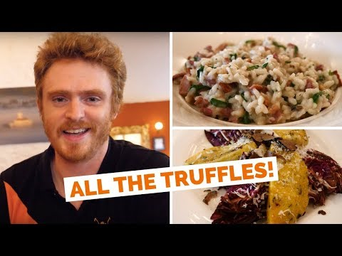 Croatian Food Review - Trying Dishes with Truffles in Zagreb, Croatia