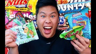 YOU SHOULD NEVER EAT THIS MUCH CANDY!!! (TASTE TEST)