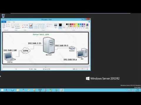 Windows Server 2012 R2 Remote Access PPTP VPN Kurulumu