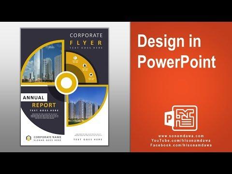 DC0006 Creative Circular Flyer Design Template