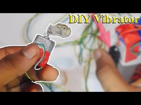 Home Made vivrator. | How to make a vibrator | Life hack. | Stupid Engineer
