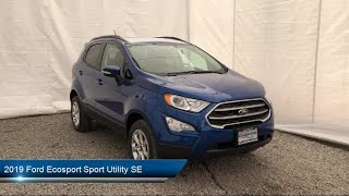 Download 2019 Ford Ecosport Sport Utility SE Carthage Watertown Gouverneur Syracuse Utica Video