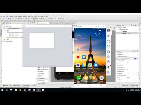Send & Receive data from Android to PC (TCP Sockets) in Android Studio PART 1
