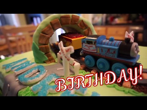 🎁 ANDREW'S 3rd BIRTHDAY PARTY! OPENING PRESENTS!