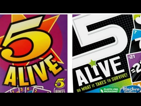 Ep. 80: 5 Alive Card Game Review (Mattel 1994 Edition)