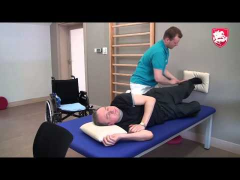 How MS Patient can exercise at home alone?