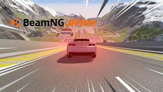 BeamNG drive - CHEVROLET CAMARO VS RAMPA