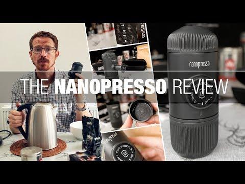 Nanopresso Review (Part 1) - The Best Portable Espresso Coffee Machine