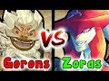 What If The ZORAS And GORONS Ended Up In A BATTLE? (The Legend Of Zelda VS)