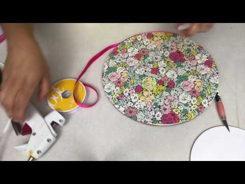 How to make a cake board tutorial