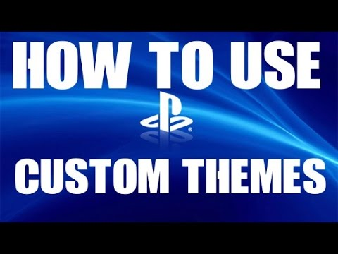 How to set ANY image as a PS4 Custom Theme Background Tutorial PS4 4.5 Software Update