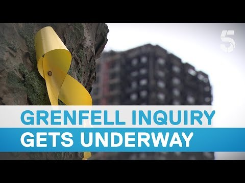 Grenfell inquiry: first testimonies from loved ones of the 72 victims - 5 News