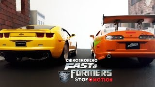 Transformers Fast & Furious STOP MOTION episode 2