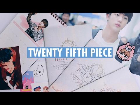 Twenty Fifth Piece by Pink Piece | unboxing ☆ BTS fansite goods