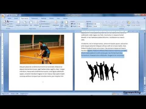 transform your document into a booklet in word 2007