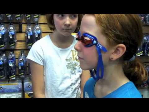 How to Fit Swim Goggles