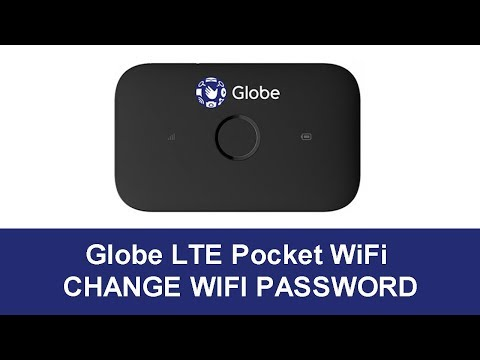Change WiFi Password - Globe Pocket WiFi Huawei E5573Cs 933