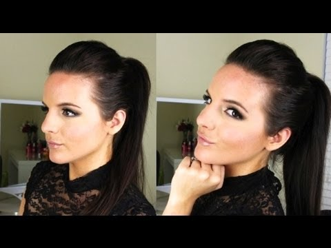 Sleek High Ponytail: Tutorial -Kim Kardashian Inspired | Casey Holmes