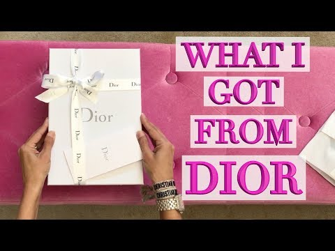 Dior Unboxings - What I Bought to Wear in Paris