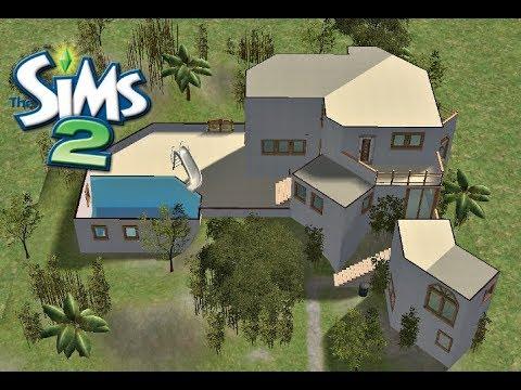♢ Modern L.A. House ♢ The Sims 2 ♢