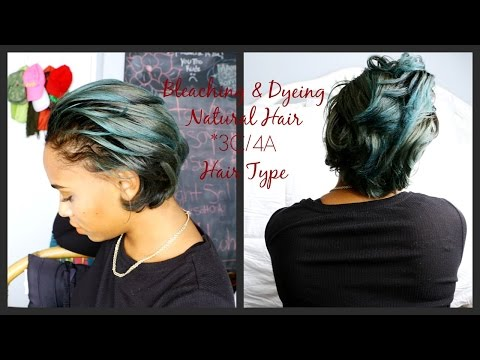 How I Bleached & Dyed My Hair Blue/Green (3c4a) + Keeping It Healthy