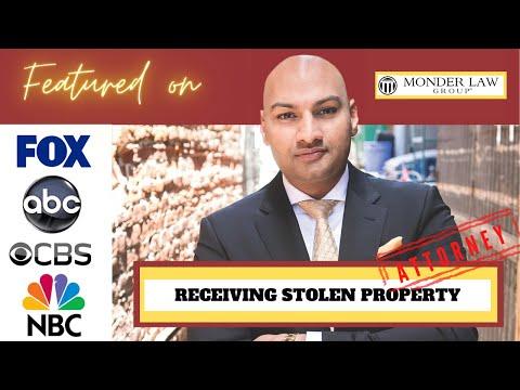 San Diego Receiving Stolen Property Attorney