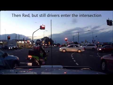 Red Light Runners Cnr Sandgate & Beams Roads 09 Jul 2013