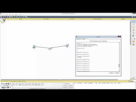 CCNA Block and unblock ports on a switch and router