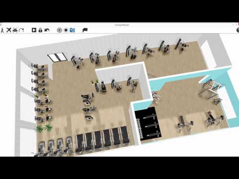 ECDESIGN 3D gym design software