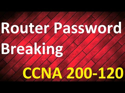 Cisco Router Password Recovery | Breaking