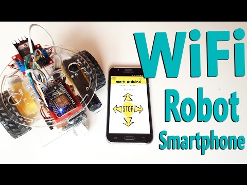 How to Make ESP8266 WiFi Robot Car | Controlled with Application