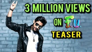 FU ला प्रेक्षकांचा तुफान प्रतिसाद   FU Teaser Crosses 3 Millions Views   Marathi Movie 2017