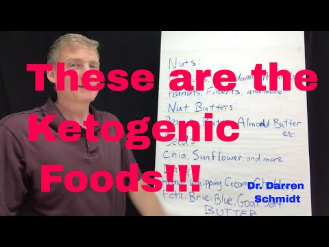 Here are the ketogenic foods!! Only a few exist. Read labels and use Cronometer to know the ratios.