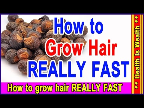 रीठा के लाभ - How to grow hair REALLY FAST - Benefits of reetha for hair