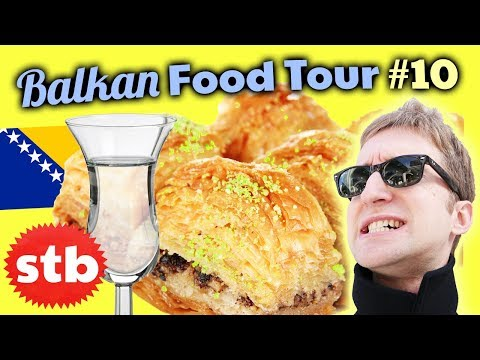 Turkish Dessert Tour & Bosnian Booze Quest in Sarajevo // Trying Rakija in Bosnia