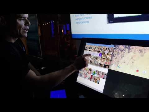 Multiple Device Wireless Display @ Intel's Google I/O Day Zero Party