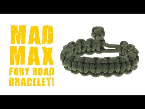 How To Make A Mad Max Paracord Bracelet