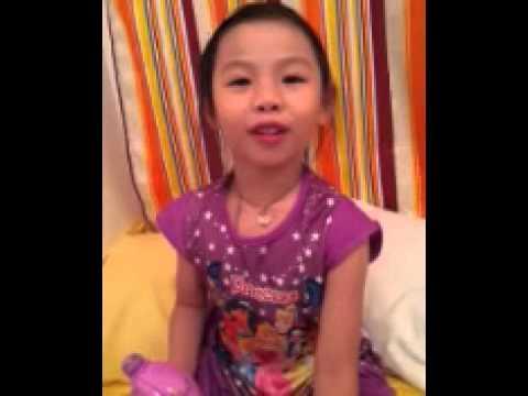 Hongkong girl learning speaking indonesian languag