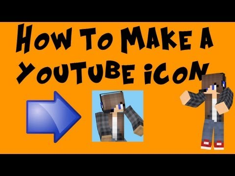 How to make a Minecraft Channel Icon (without photoshop)