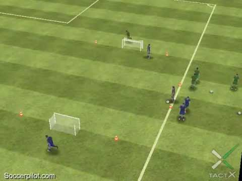 1:1 After Sprint - Tackling - Guarantees successful training - Free Soccer Drills on Soccerpilot.com