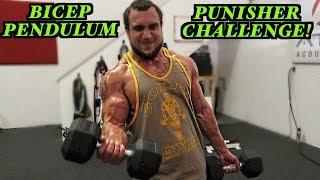 The Bicep Pendulum Punisher Challenge | NO MOMENTUM!!!