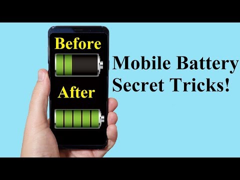 Mobile Battery Secret Tricks