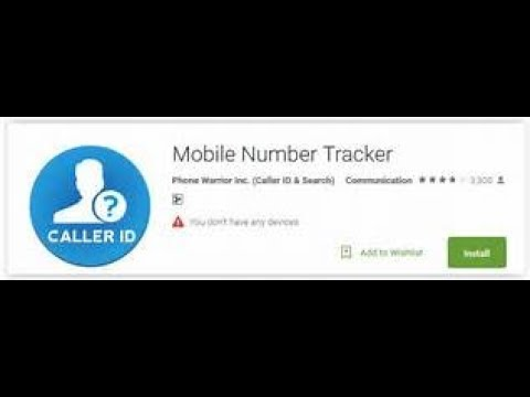 Track International number easily