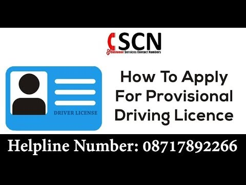 How To Apply For Provisional Driving Licence