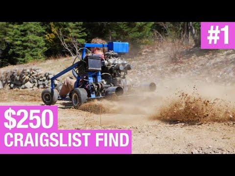 Building the Barbie Car Episode #1 - $250 Go Kart Craigslist Find