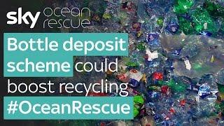 Plastic bottle deposit scheme could boost recycling: Sky Ocean Rescue