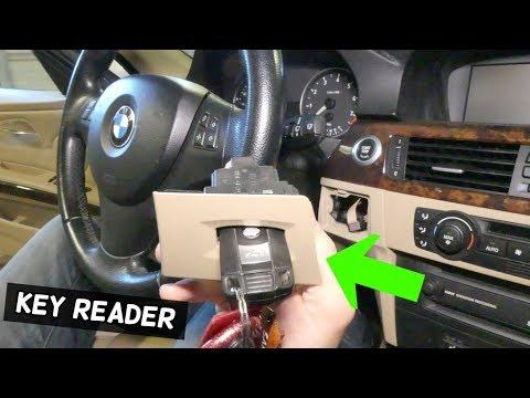 HOW TO REMOVE AND REPLACE IGNITION KEY READER CONTROL MODULE BMW E90 E92 E91 E93