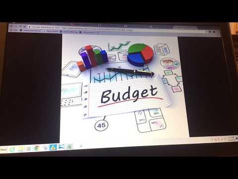 March Budget Update