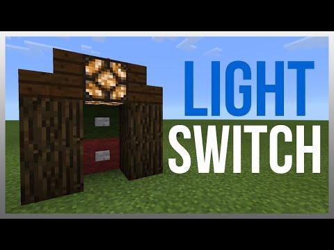 MCPE 0.16.1: Redstone Tutorial - Light Switch!